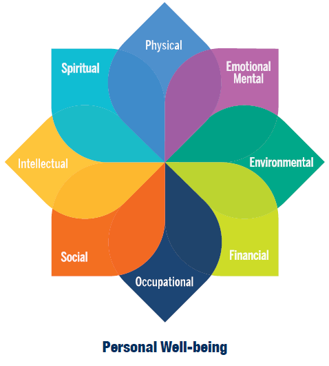 Personal Well-being wheel