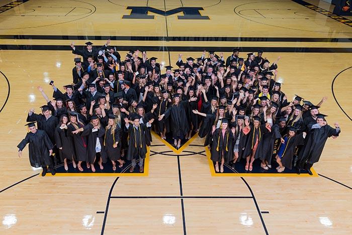 Michigan Athlete Graduates